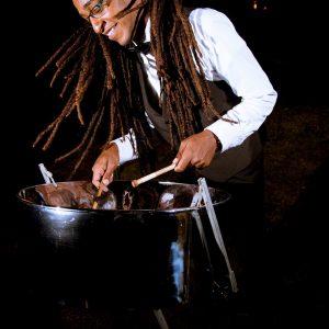 Dike Samai trinidadian pannist